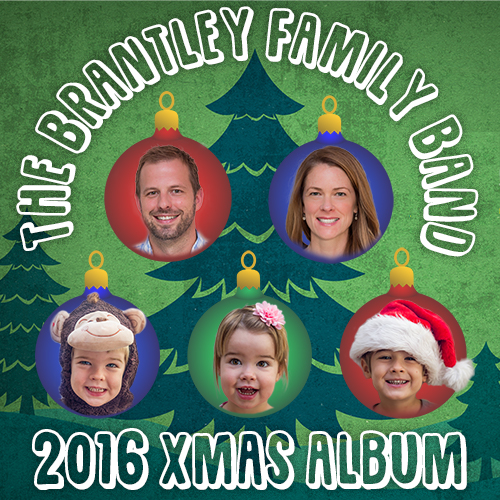 The Brantley Family Band 2016 Xmas Album